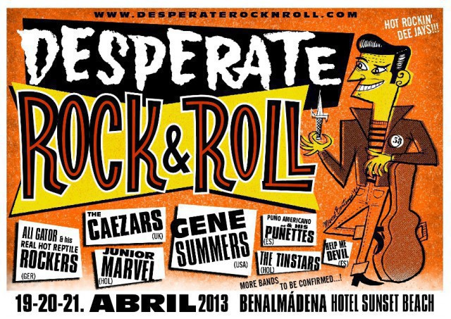 Como ir a Desperate Rock and Roll